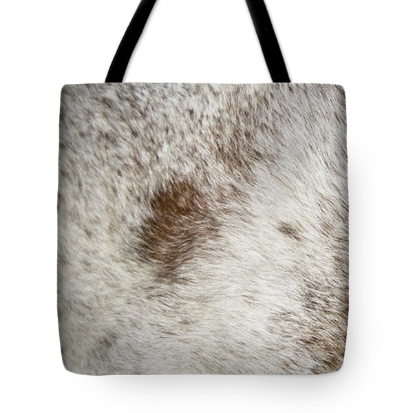 Tote Bag featuring the photograph Appaloosa 2 by Catherine Sobredo