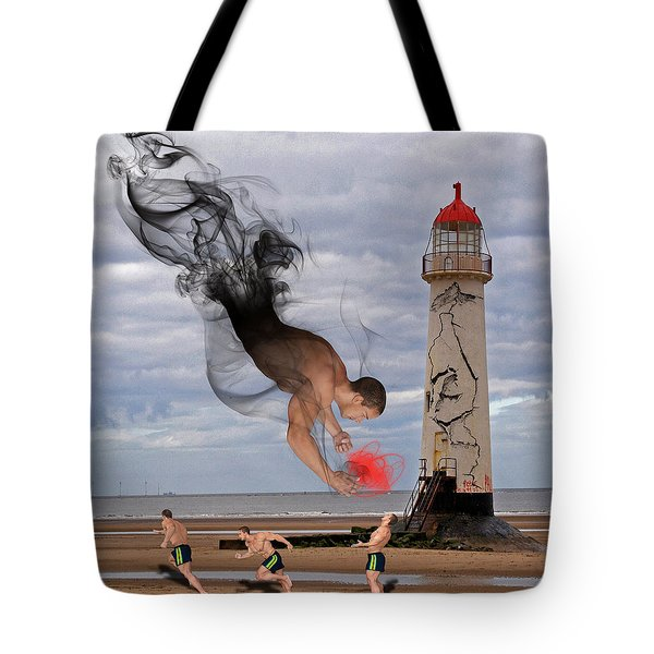 Apparition And Sighting Tote Bag