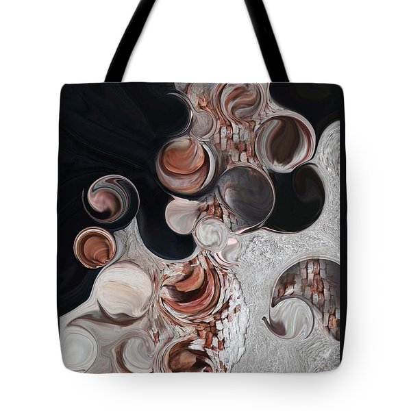 Apparition Of Degenerated Vision Tote Bag by Carmen Fine Art