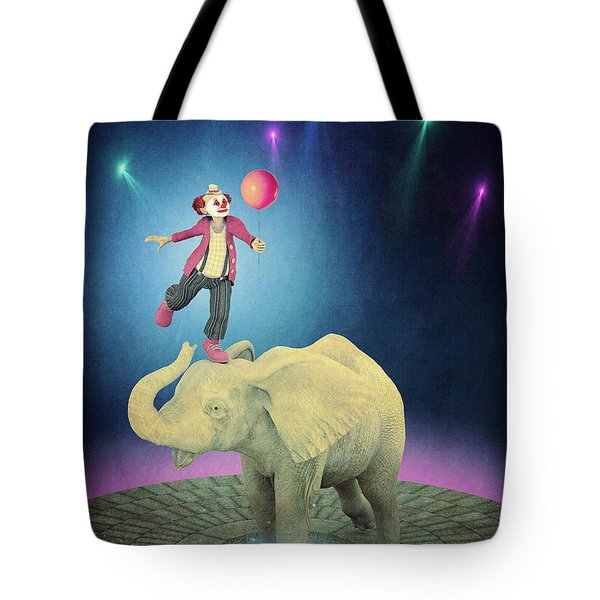 Tote Bag featuring the digital art Applause by Jutta Maria Pusl