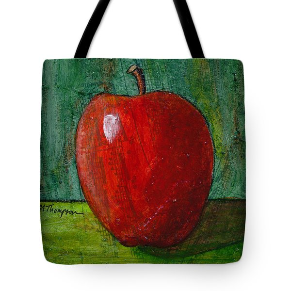 Apple #4 Tote Bag