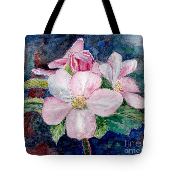 Apple Blossom - Painting Tote Bag