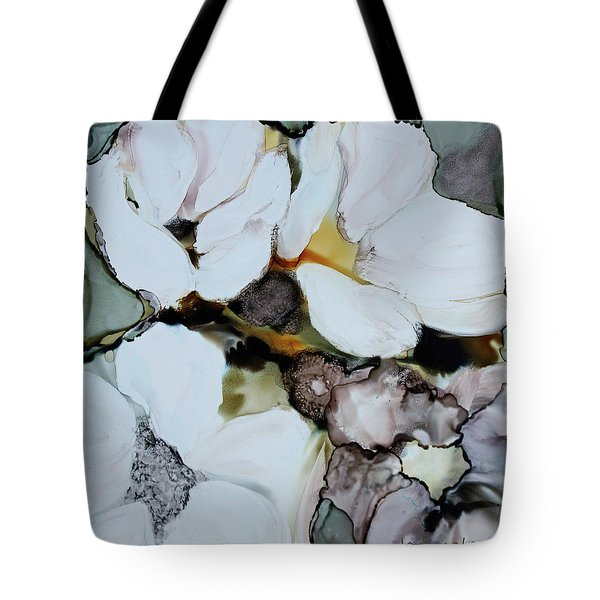 Tote Bag featuring the painting Apple Blossoms by Joanne Smoley