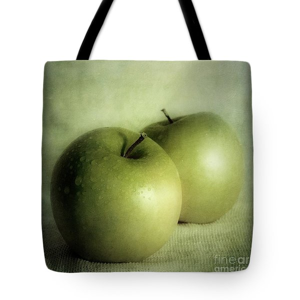 Apple Painting Tote Bag