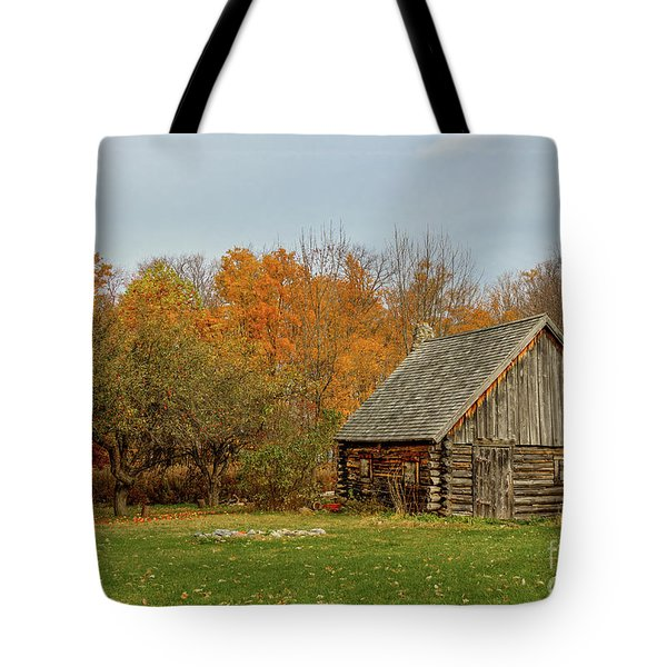 Apple Season At The Woods Tote Bag
