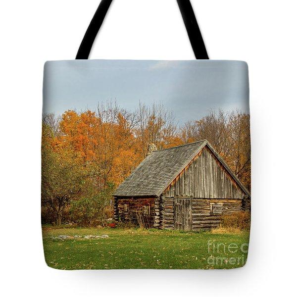 Apple Season At The Woods Tote Bag