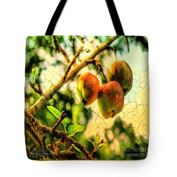 Apple  Season Tote Bag