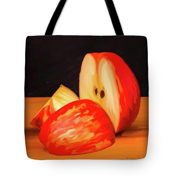 Apple Study 01 Tote Bag by Wally Hampton