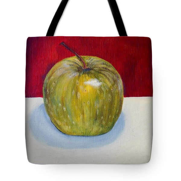 Apple Study Tote Bag