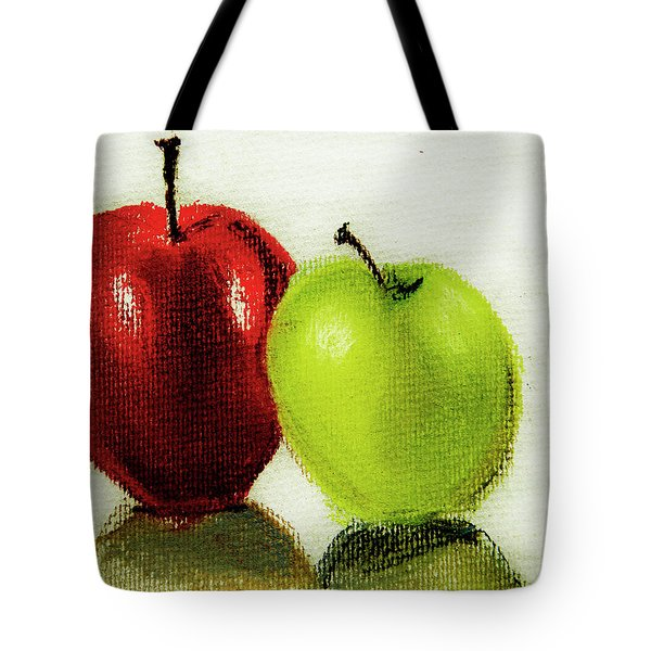 Apple Study Tote Bag