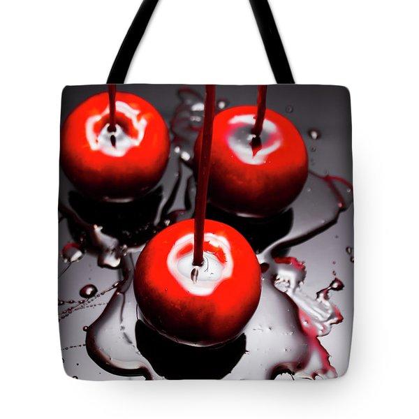 Apple Taffy Still Life. Halloween Treats Tote Bag