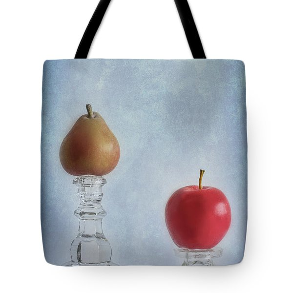 Apples To Pears Tote Bag