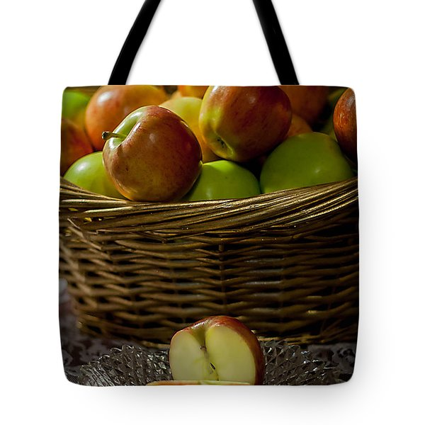 Apples To Share Tote Bag