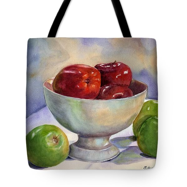 Apples - Yum Tote Bag
