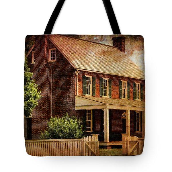 Appomattox Court House By Liane Wright Tote Bag