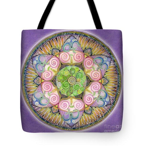 Appreciation Mandala Tote Bag