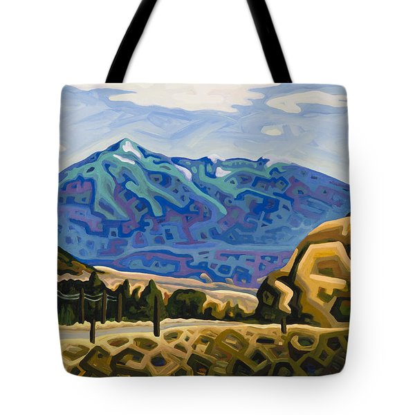 Approaching Garrison Junction Tote Bag by Dale Beckman