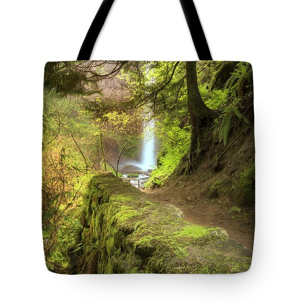 Approaching Latourell Tote Bag