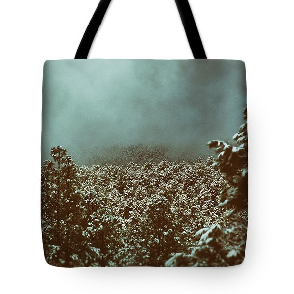 Approaching Storm Tote Bag by Jason Coward