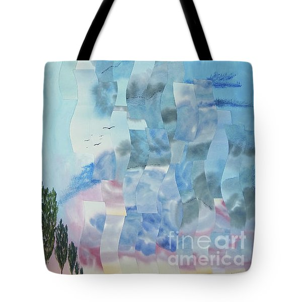 Approaching Storm Tote Bag by Jeni Bate