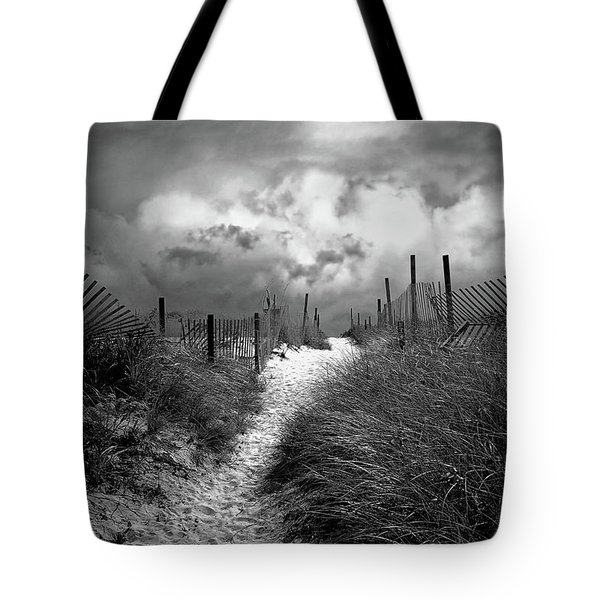 Approaching Storm Tote Bag by John Rivera