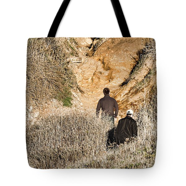 Approaching The Incline Tote Bag