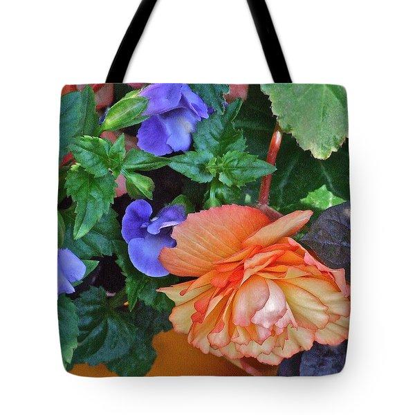 Apricot Begonia 1 Tote Bag