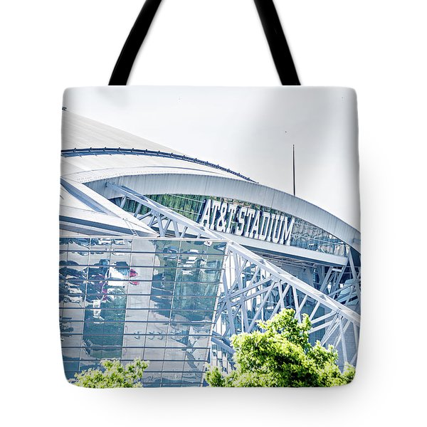 April 2017 Arlington Texas Att Nfl Cowboys Football Stadium  Tote Bag