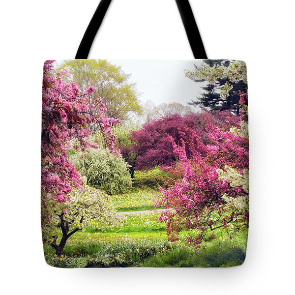 April Afterglow Tote Bag by Jessica Jenney