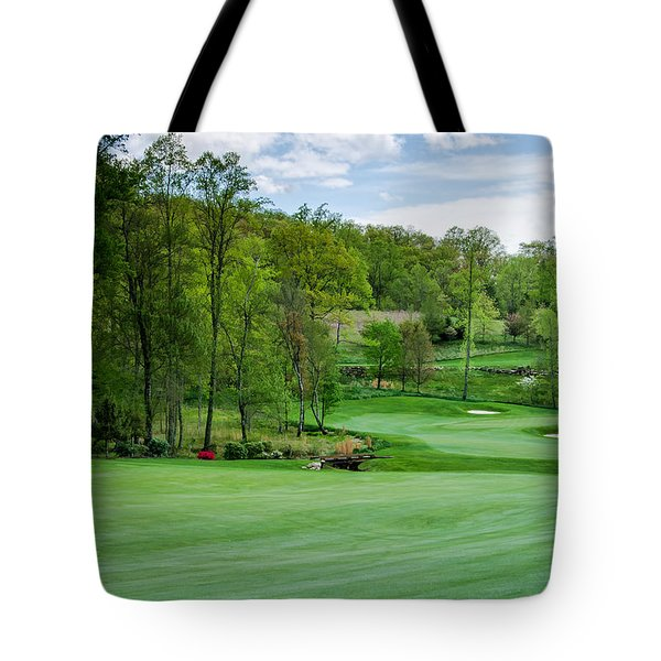 Tote Bag featuring the photograph April Approach by Claire Turner