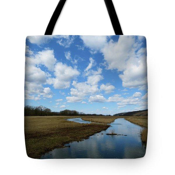 April Day Tote Bag