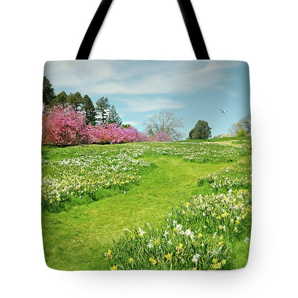 Tote Bag featuring the photograph April Days by Diana Angstadt
