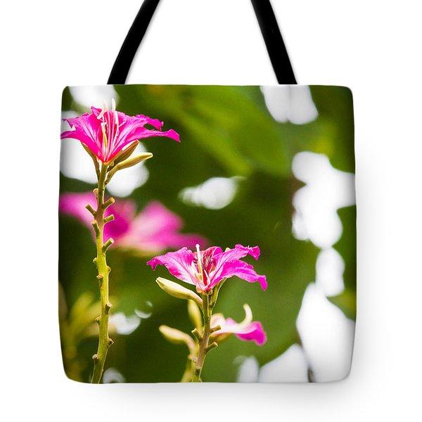 April Flower Tote Bag