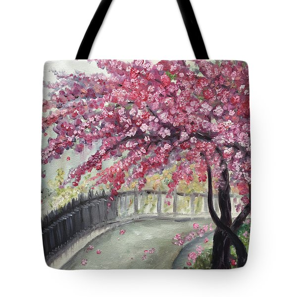 April In Paris Tote Bag by Roxy Rich
