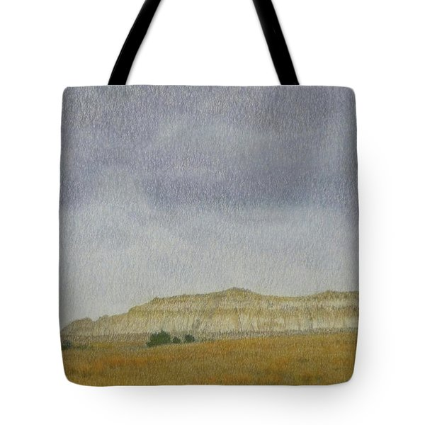 April In The Badlands Tote Bag