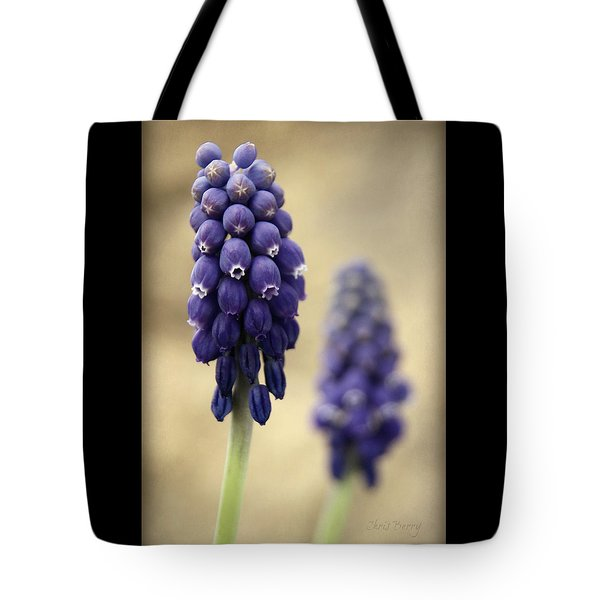 Tote Bag featuring the photograph April Indigo by Chris Berry