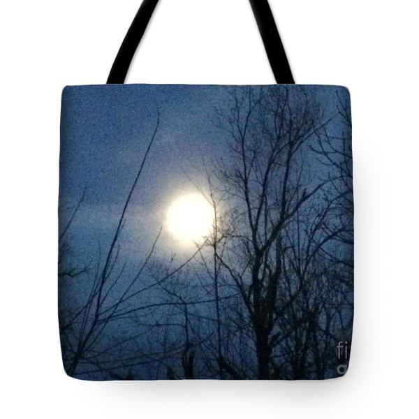 April Moonlight Tote Bag