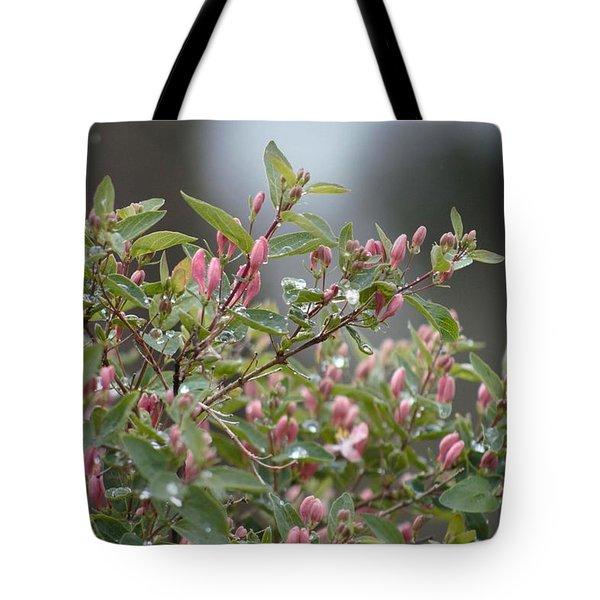 April Showers 10 Tote Bag