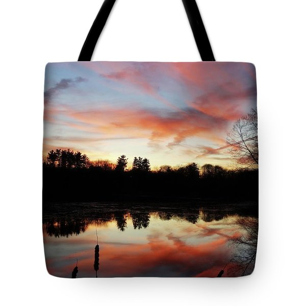 April Sky 23 Tote Bag
