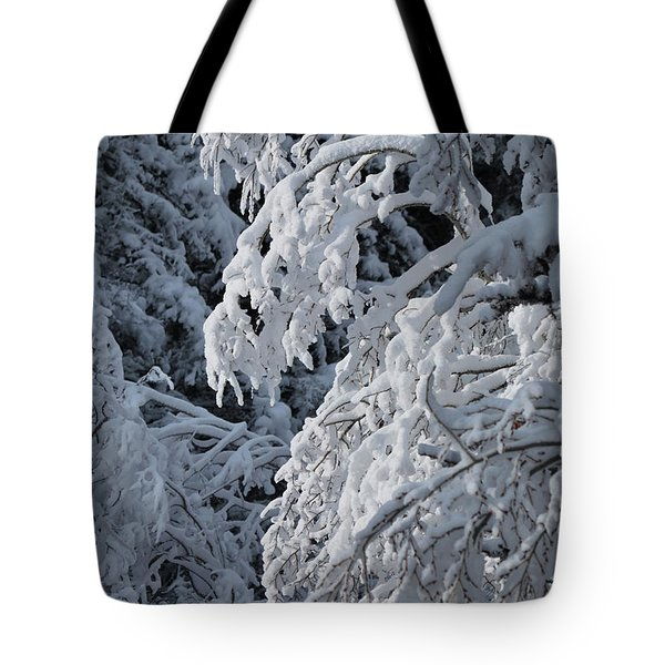 April Snow Tote Bag
