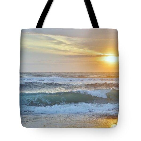 April Sunrise  Tote Bag