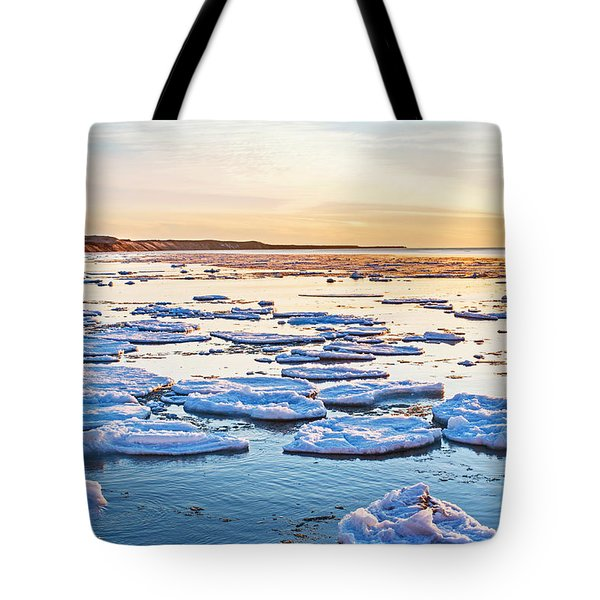 April Sunset Tote Bag