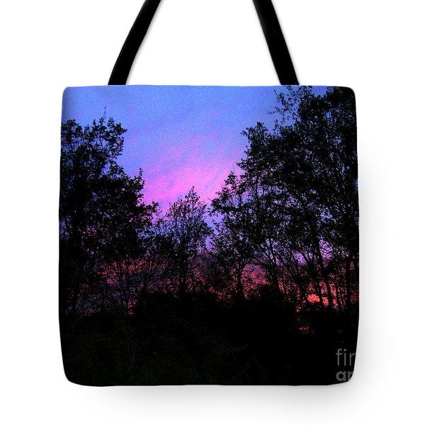 April Sunset Tote Bag by Melinda Dare Benfield