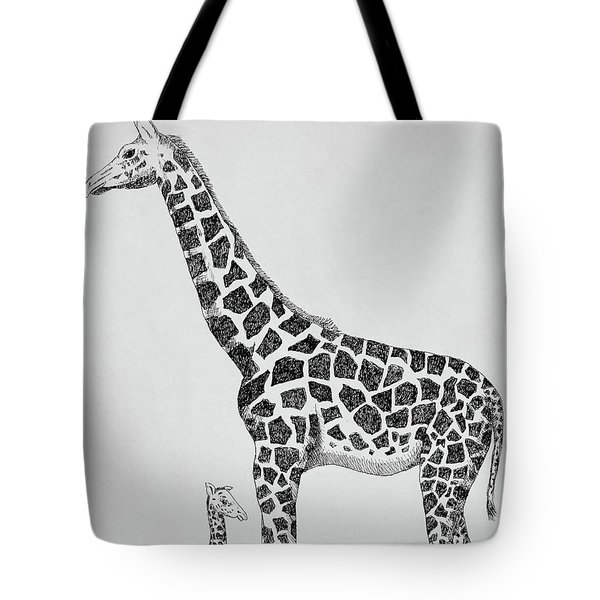 April The Giraffe Tote Bag