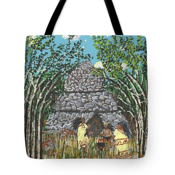 April  The Shaman Calls The Jaguars Tote Bag