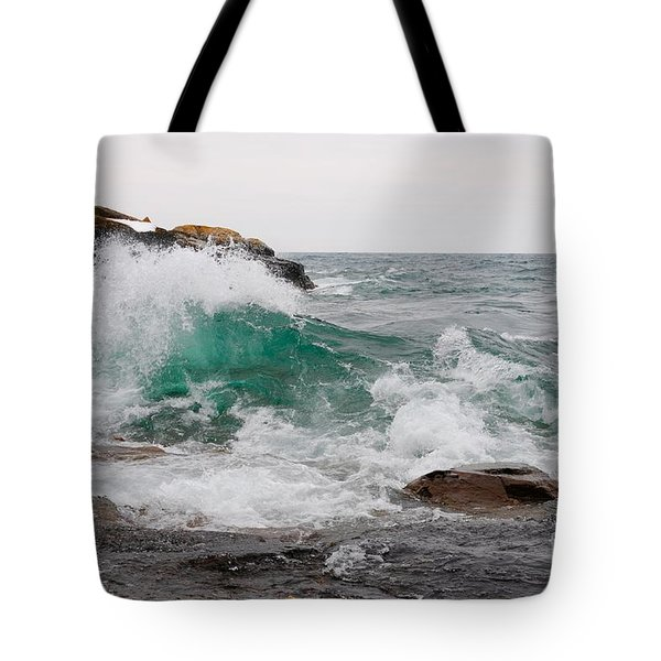 April Waves On Superior Tote Bag