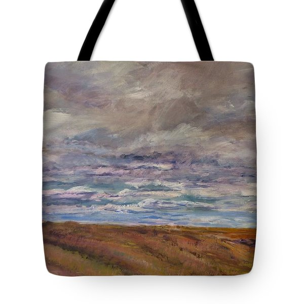 April Wind Tote Bag by Helen Campbell