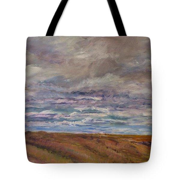 April Wind Tote Bag