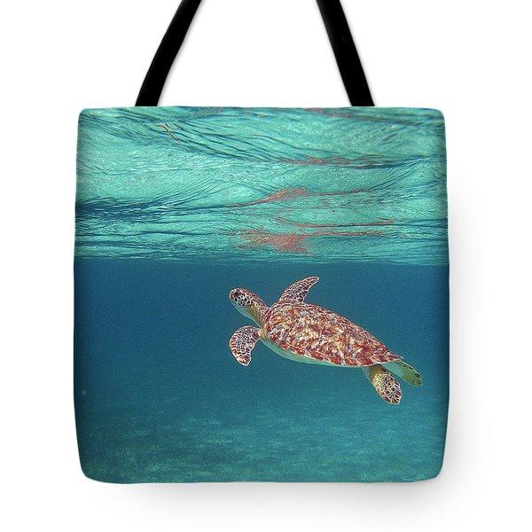 Aqua Dreams Tote Bag