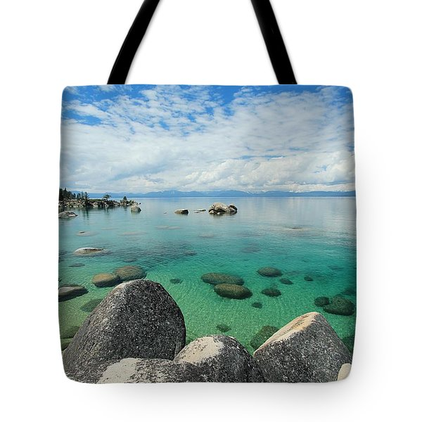 Aqua Heaven Tote Bag
